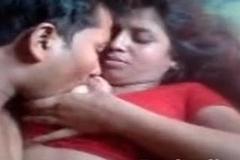 Desi Aunty Boobs Pressed Nipple Sucked
