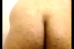 Indian hairy gaping asshole and bore