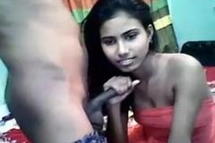My Girlfriend Sonali Hot Sucking
