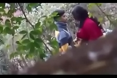 indian couple sex in outdoor mushaffur garden