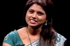 VID-20140209-PV0003-Chennai (IT) Tamil 25 yrs old unmarried beautiful and hot TV moor Ms. Girija Sree (FM size # 38B-30-34) speaking sexily with sexologist anent 29 yrs old Mettuppalayam Ravi in Captian TV &lsquo_Andharangam&rsquo_ show coitus video-3