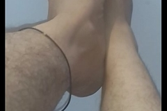 Indian feets hairy sexy rubbing
