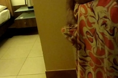 Wear and Cum in Satin silk saree be required of neighbour 3