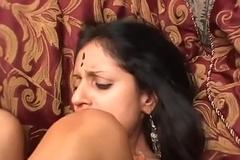 HORNY INDIAN MILF Deep throats AND FUCKS YOUR Blarney POV