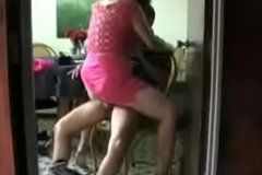 Desi Housewife quickie railing will not hear of neighbour
