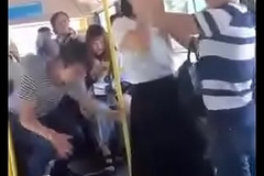Fabric out in bus