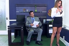 Brazzers - (Layla London) - Beamy Tits at Work