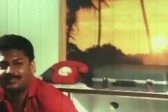 Telugu Hot Actress Hema aunty Romance in blackness dress earlydays