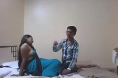 Indian Desi Girlfriend Enjoy Sex with Her Boyfriend in Hostelry