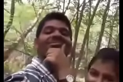 Cute Indian lover having sex at parking-lot