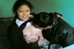 School Girl And Her Teacher