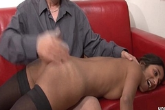 Casting couch amateur french couple roughly a emaciated young devilish analyzed