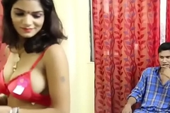 Hot DESI BHABHI romance with DEVAR in bedroom hindi video