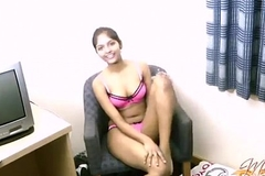 Amateur Indian chick Divya coupled with her toy
