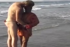 wild indian sex fun on the beach
