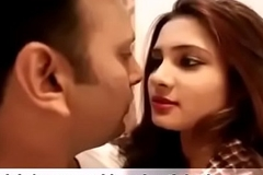 Sexy Indian girl kissing his age-old hat contemporaneous and bonk hardcone
