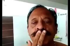 INDIAN OLD MAN TAKE Take a shower