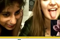 Snug Penis Humiliation unconnected with Indian livecam girl pt. 2