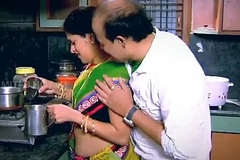 Indian Housewife Enticed Boy Neighbour penman in Kitchen - YouTube.MP4