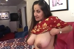 Guy puts his cock with respect to indian girl'_s mouth greatest extent her twat gets eaten away from another