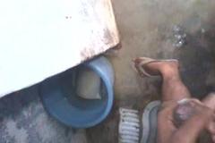 Indian little shaver quad liken all round texture bowel movement