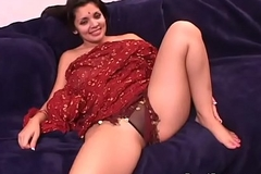 Big tits Indian starlett sucking with an increment of fucking hardcore