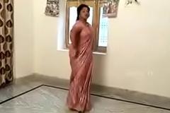 Telugu lanja dance with off colour body
