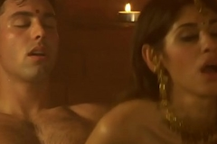 Unfamiliar Couple From Indian Sauna